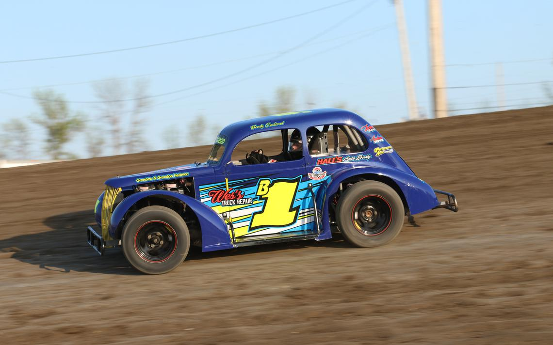Brody Carlsrud, INEX Legends, speedway shots, buffalo river race park, BRRP